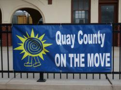 Quay County on the Move Banner