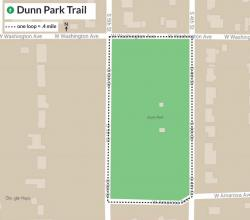 Map of Dunn Park Route